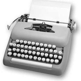 typewriter gray