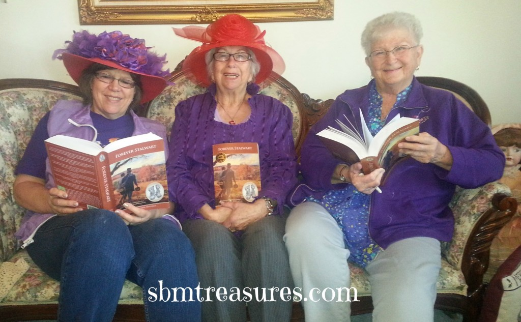 Aunt Ruth and the Red Hat Ladies