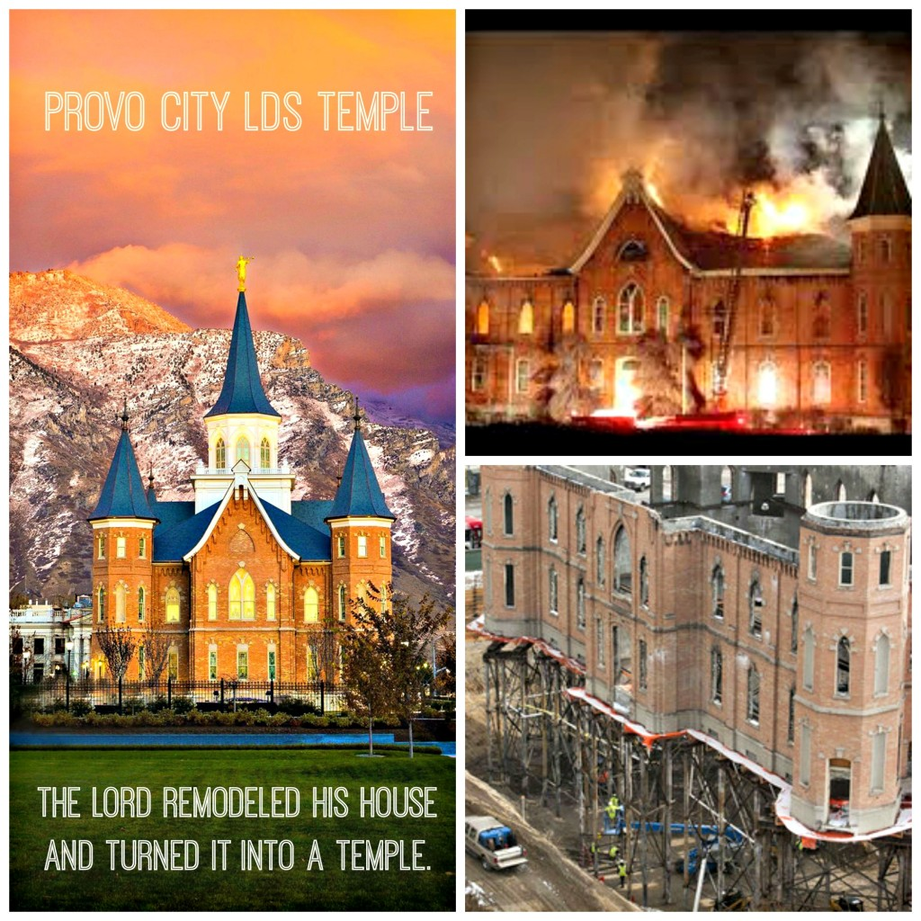 Provo City Temple collage with text
