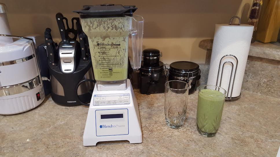 St. Patrick's Day shake with lemon oil