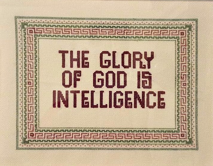 Wilma Tanner The Glory of God 1.17.17 unframed